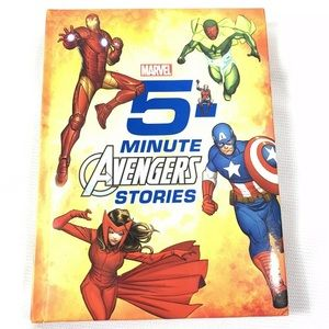 Marvel 5 minute Avengers stories 2015 hardback